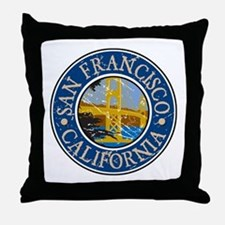 San Francisco California Throw Pillow
