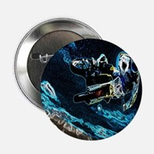 "grunge cool motorcycle racer 2.25"" Button"