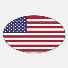 USA flag authentic version Decal