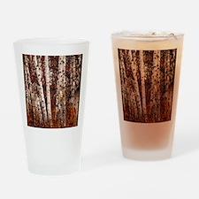 fall landscape birch tree Drinking Glass