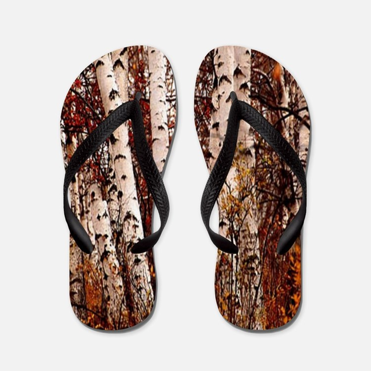 birch tree flip flops birch tree flip flops sandals cafepress. Black Bedroom Furniture Sets. Home Design Ideas