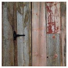 rustic western barn wood Poster