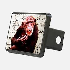 funny chimpanzee Hitch Cover