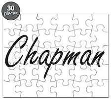 Chapman surname artistic design Puzzle