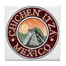 Chichen Itza, Mexico Tile Coaster