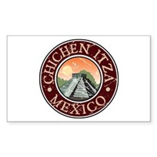 Chichen Itza, Mexico Rectangle Decal