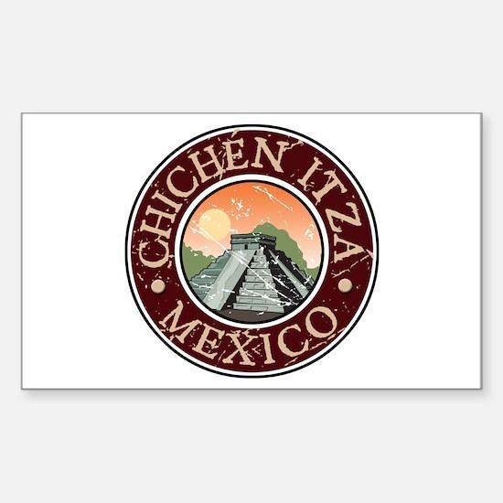 Chichen Itza, Mexico Rectangle Decal