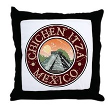 Chichen Itza, Mexico Throw Pillow