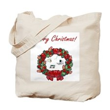 Secretary Merry Christmas Tote Bag