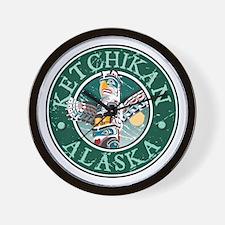 Ketchikan, Alaska Wall Clock