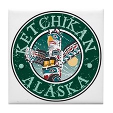 Ketchikan, Alaska Tile Coaster