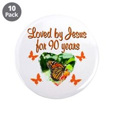 "90TH CHRISTIAN 3.5"" Button (10 pack)"