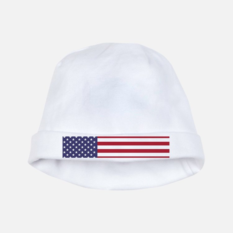 USA flag authentic version baby hat