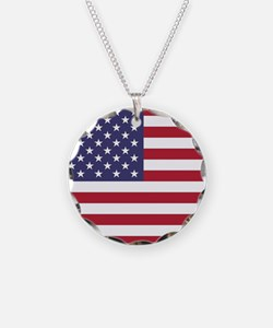 USA flag authentic version Necklace