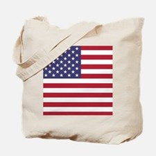 USA flag authentic version Tote Bag