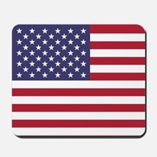 USA flag authentic version Mousepad