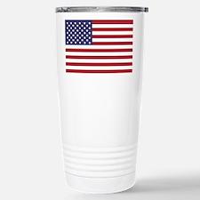 USA flag authentic vers Travel Mug