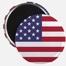 USA flag authentic version Magnets