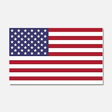 USA flag authentic version Car Magnet 20 x 12