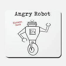 Angry Robot Mousepad