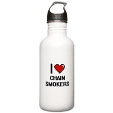 I love Chain Smokers D Water Bottle