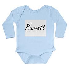 Burnett surname artistic design Body Suit