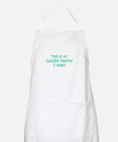 'This Is My Cancer Fightin' T-Shirt' BBQ Apron