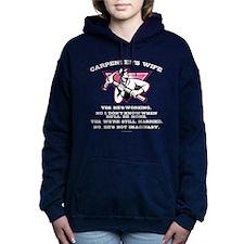 Carpenter's Wife Women's Hooded Sweatshirt