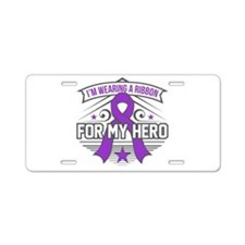 Ulcerative Colitis For My H Aluminum License Plate