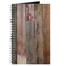 rustic western barn wood Journal
