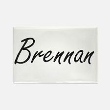Brennan surname artistic design Magnets