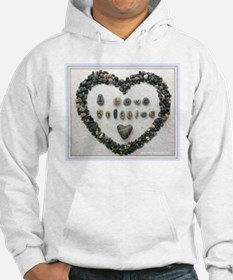 I Love Knitting with Heart Hoodie