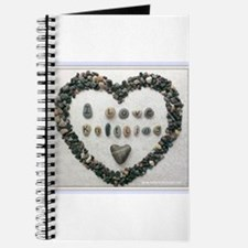 I Love Knitting with Heart Journal