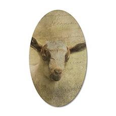Baby Goat Socke Wall Decal