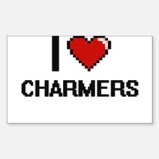 I love Charmers Digitial Design Decal