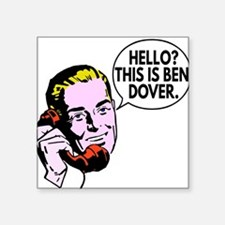 Ben Dover Sticker