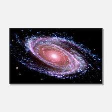 Pink Spiral Galaxy Car Magnet 20 x 12