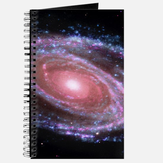 Pink Spiral Galaxy Journal