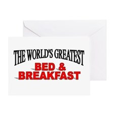 """The World's Greatest Bed & Breakfast"" Greeting Ca"