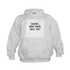 'Cancer...Been There, Beat That' Kids Hoodie