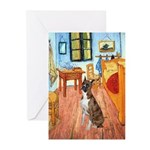 Room with a Boxer Greeting Cards (Pk of 20)