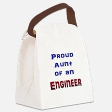 Aunt Engineer Canvas Lunch Bag
