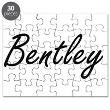 Bentley surname artistic design Puzzle