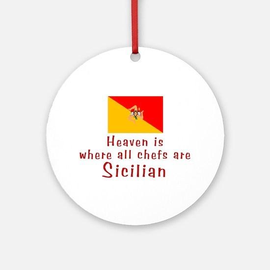 Sicilian Chefs Keepsake Ornament
