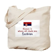 Serbian Chefs Tote Bag