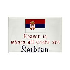 Serbian Chefs Rectangle Magnet