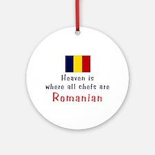 Romanian Chefs Keepsake Ornament