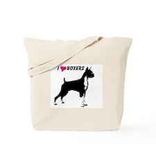 AFTM I heart Boxers Tote Bag