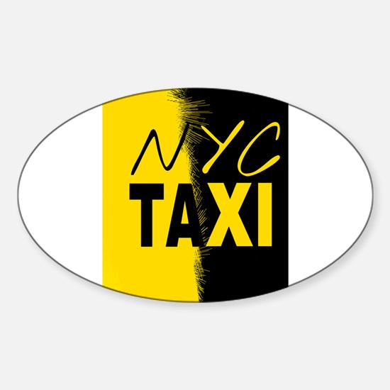 NYC TAXI Decal