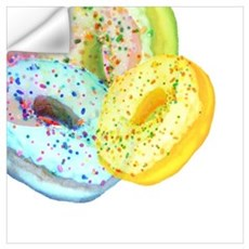 Rainbow Donuts Wall Decal